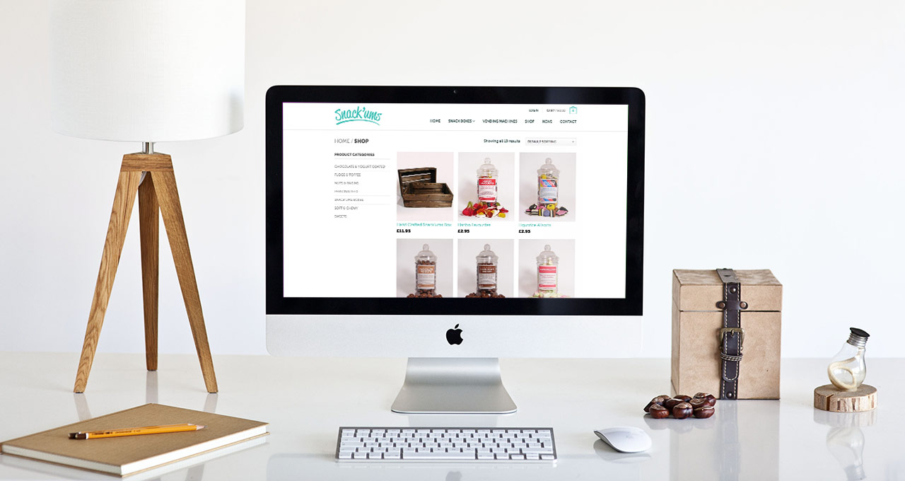 snack'ums shop page